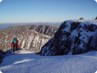 Topping out on Tower Ridge, Ben Nevis